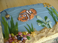 Fish Tank Cake (IMAKECAKES) Tags: fish cake kids nemo fishtank findingnemo birhday