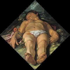Dying Adonis by Goltzius