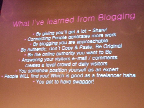 What Nalden learned from blogging