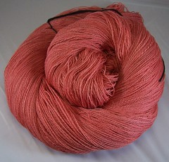 laceweight red