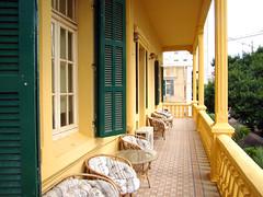 Ifpo-Beyrouth, Pavillon G, la terrasse des Etudes contemporaines