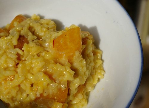 Risotto with Roasted Butternut Squash