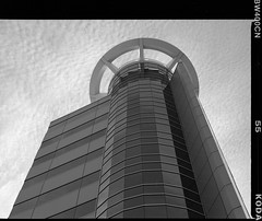 The Raddison (absencesix) Tags: usa film architecture mi buildings mediumformat october 645 unitedstates michigan northamerica kalamazoo hotels 2008 locations unknowncamera 0mm zenzabronica iso0 unknownlens mediumformat6x45 kodakbw400cnprofessional hasmetastyletag hascameratype theraddisonhotel selfrating0stars unknownflash october242008 hasfilmtype unknownexposure geo:countrys=usa geo:city=kalamazoo subjectdistanceunknown unknownmode geo:state=mi kalamazoomiusa