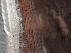 Mars-Avalanche (perry3213) Tags: mars express universe cosmos esa avalanche lawine hrsccamera