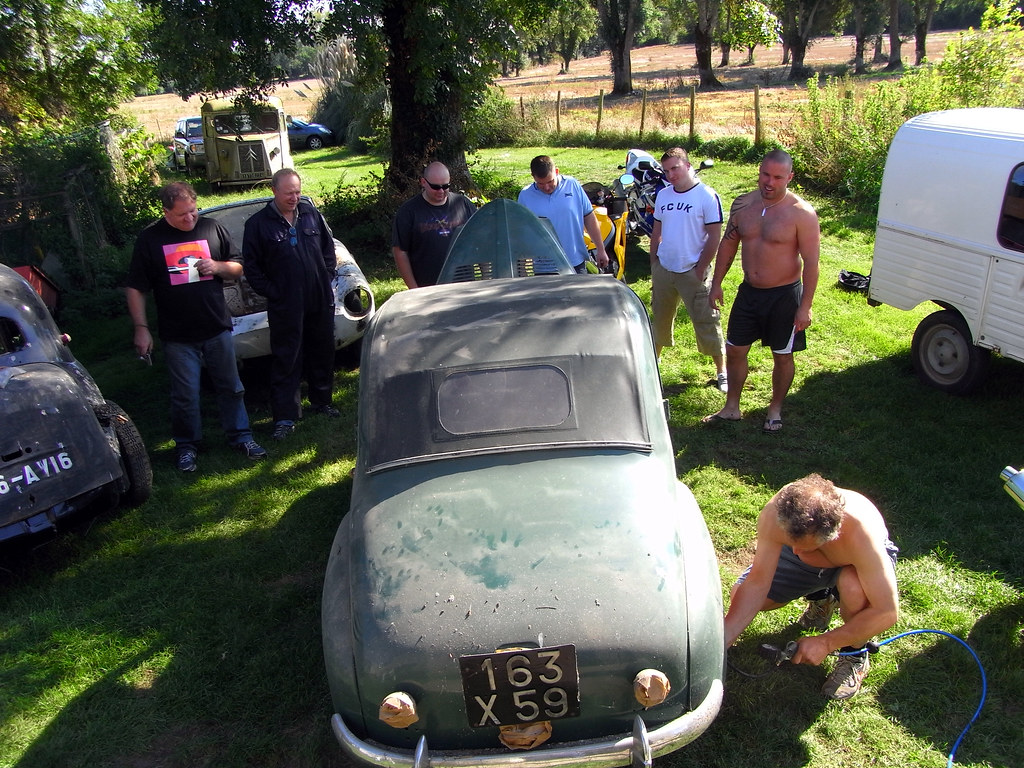 whipping the simca six back into life