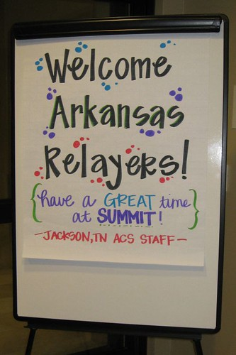 Welcome Arkansas Relayers