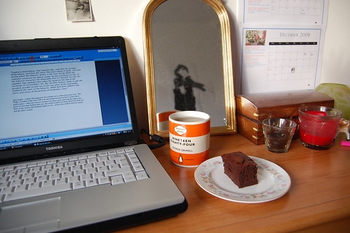 essay and cake