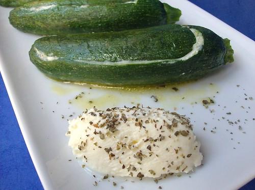 Bauletti di zucchine al mascarpone e maggiorana