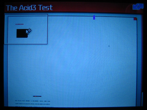 Test Acid3 sur Opera Mini - Blackberry Curve 8310 2
