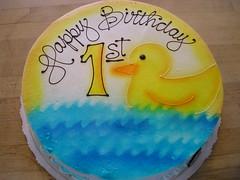 1st bday duckie