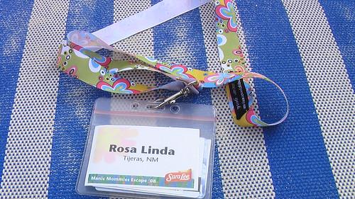 Rosa Linda´s lanyard
