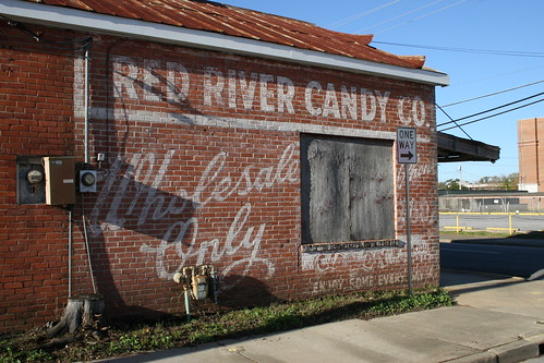 angled look at red river candy co. ghost