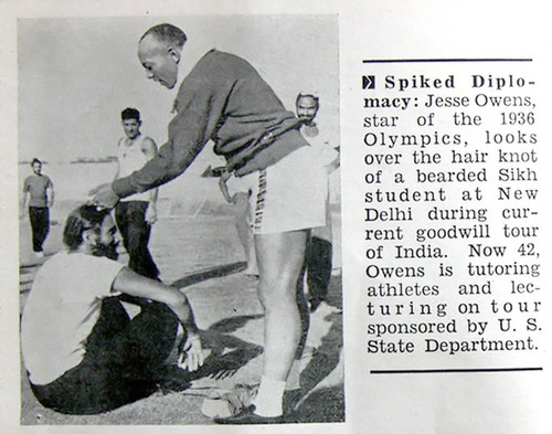 Jesse Owens Newspaper Articles