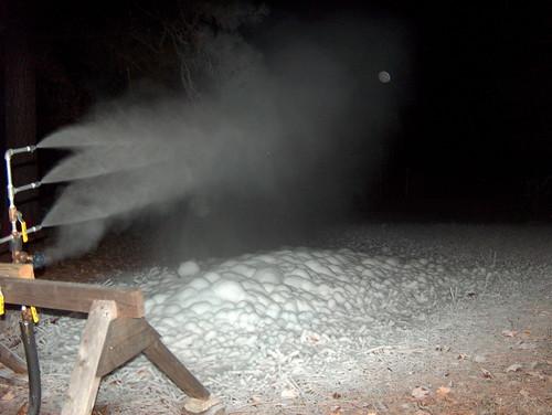 Snow at 5:10 am