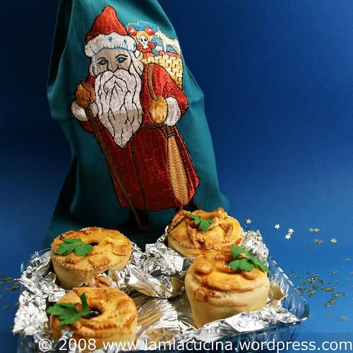 Sulzpastetchen mit Santa Claus, als er sich noch St. Nikolaus nannte