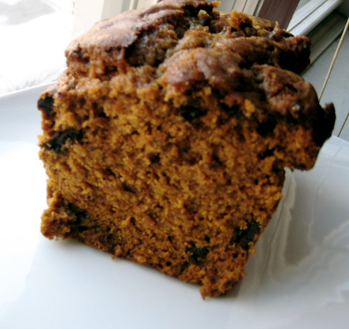 the comeback kid: the chocolate chip pumpkin loaf returns
