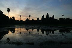 Dawn over Angkor Wat