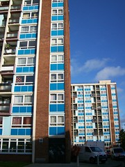 Proctor House & Patterson House, Bristol (lydia_shiningbrightly) Tags: bristol flats highrise redcliffe towerblock socialhousing councilhousing
