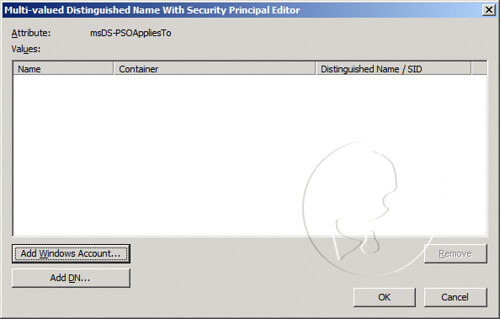 Multi-valued Distinguished Name With Security Principal Editor