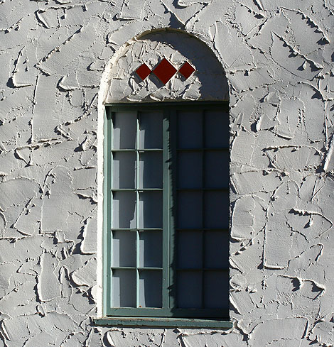 a window in the band shell