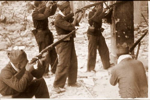 Milicianos en Zocodover