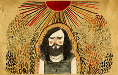 Devendra (Lizzy Stewart) Tags: pencil watercolour devendrabanhart editorialillustration
