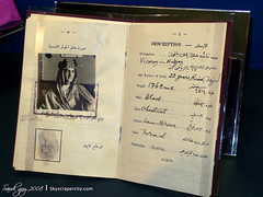 King Faisal Passport 1926 (SG-SSC) Tags: history king islam monarch saudi arabia historical jeddah passport riyadh viceroy faisal 1926 saud hijaz officialdocumentation