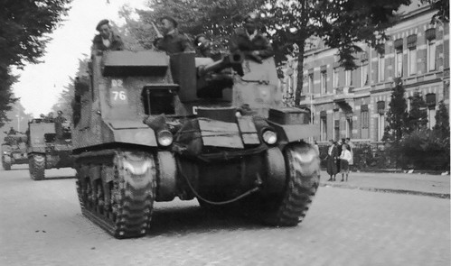 153rd Field Regiment Royal Artillery, Nijmegen 1944
