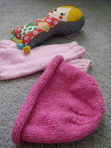 some knitted goods