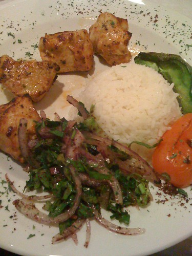 Chicken Kebabs from Cafe Ephesus