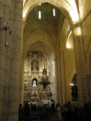 Iglesia de Santa María la mayor - Retablo mayor