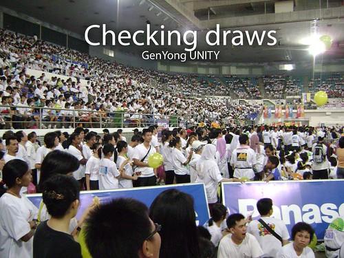 Checking draws
