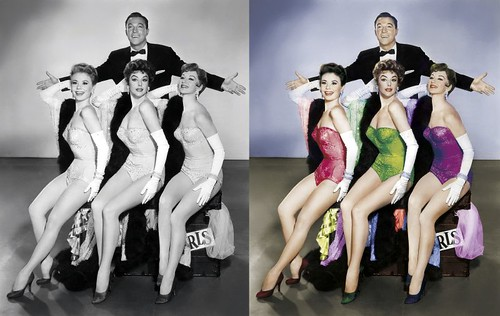 Gene Kelly antes y despues