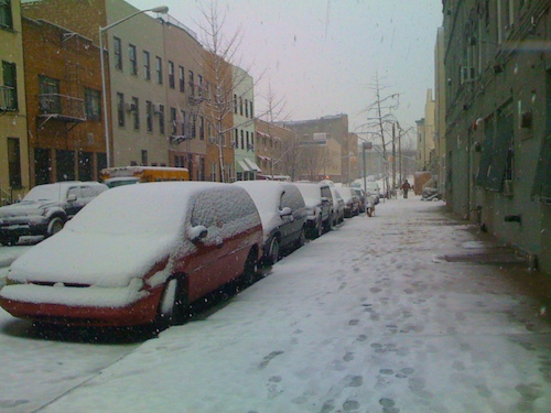Snow in Bushwick