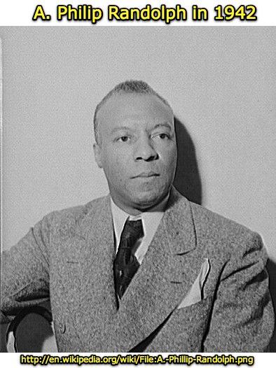 A. Philip Randolph in 1942