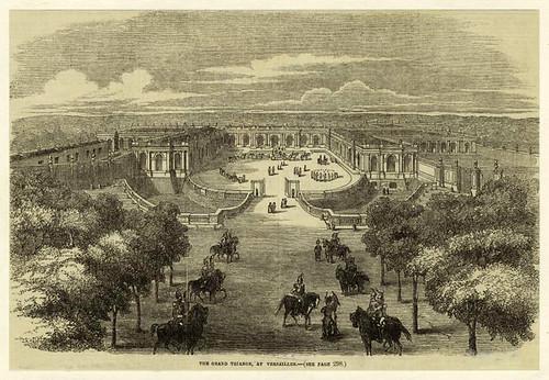 007-El Gran Trianon en Versalles 1855
