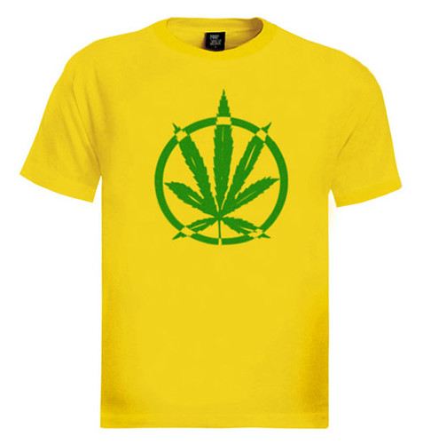 Big Marijuana Leaf T-Shirt