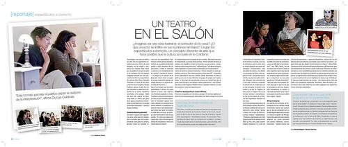 Reportaje en revista [Ox]ígeno