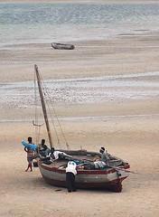 Boat at Vilanculos