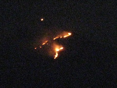Mt. Arunchala on fire for Deepam