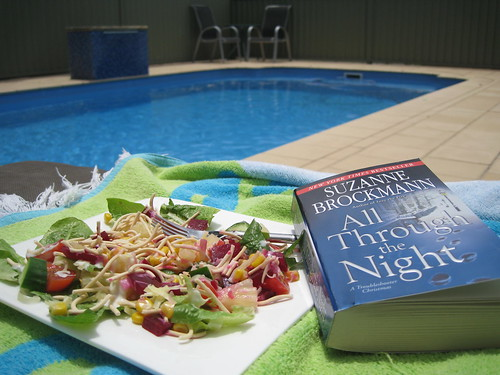 Sunday lunch by the pool