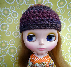 Wine Country Harvest Crochet Hat for Blythe