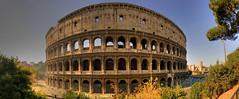Coliseo, Roma (I) (Panoramyx) Tags: italien italy panorama rome roma italia coliseo panoramica rom hdr italie colisseum lazio italië colosseo itàlia masterofthelight