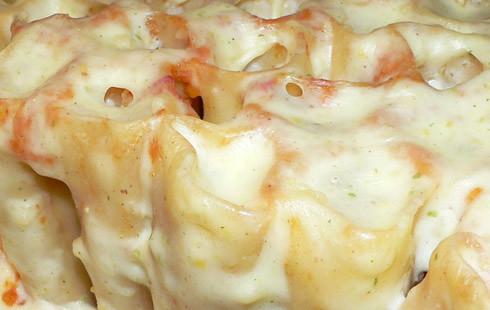 Cannelloni mit Kürbis-Linsen-Füllung