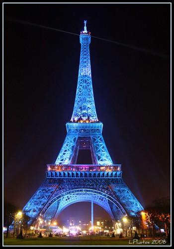Tour eiffel - Parigi Natale