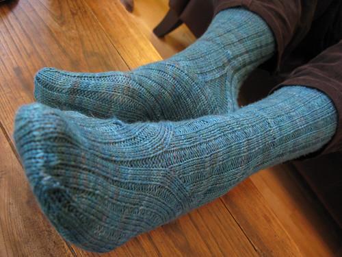Mum's socks side