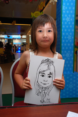 Caricature live sketching for Marina Square Day 2 - 11
