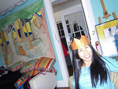 princess nina. (stephiblu) Tags: nyc ny brooklyn newyearseve newyears happynewyear bk december2008 newyearsrockineve 20082009 january2009