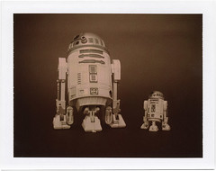 Make a difference in the life of a little droid. (tubes.) Tags: film closeup polaroid starwars big little chocolate 360 r2d2 bigbrother droid bigsister packfilm polaroidweek roidweek polapremium notthepoladroidyourethinkingof