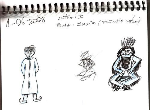 Mi memoria en dibujos 19 (I, Indio)